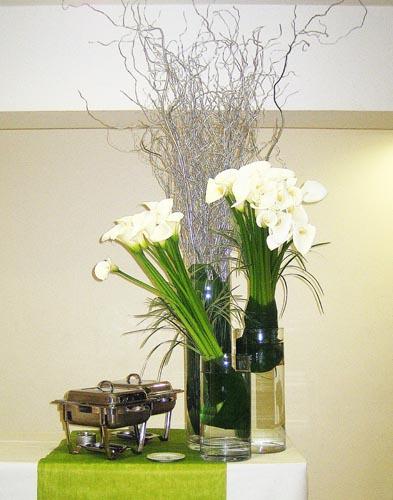 Decoration florale pour les receptions de particuliers et profesionnels - Decoration florale evenementiel ...